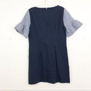 J. Crew Factory Dresses - J. Crew Printed Bell Sleeve Dress (A5)